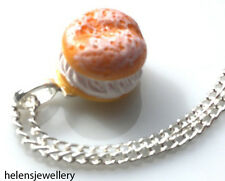 GORGEOUS HANDMADE FRESH CREAM CAKES NECKLACE + FREE GIFT BAG