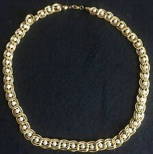 Gold Faux Pearl Necklace Beautiful statement piece  VALENTINE'S DAY GIFT 24""