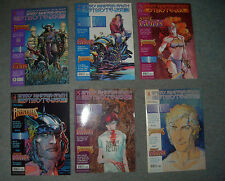 Barry Windsor-Smith Storyteller # 1-5+8 #1=AE variant rare (Tabloid) (USA)