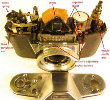 Repair Instructions for the VOIGTLANDER Bessamatic and Bessamatic DeLuxe (CD)