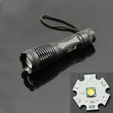 CREE XML-T6 1600 Lumens LED Lamp Flashlight Zoomable Focus Torch Light 4 Modes