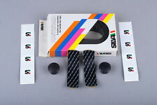 NOS SILVA Nastritalia Black / White Zebra cork handlebar tape