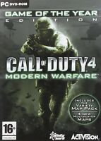 Call of Duty 4: Modern Warfare - Game of the Year Edition (PC-DVD) NEW SEALED