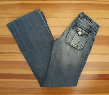 ROCK & REPUBLIC $195 : 24 L31 : Medium Distressed Boot Cut Flare SIOUXSIE Jeans