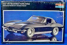Monogram 1965 'Vette Street Machine Corvette 1/24 Model Kit #2724 Factory Sealed