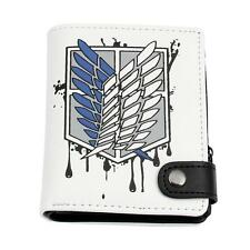 Cos Attack on Titan Shingeki no Kyojin Scouting Legion Recon Corps Wallet Purse