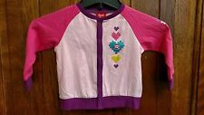 Small Paul By Paul Frank Girls' Long Sleeve Pink Top - Size 18 Months - New