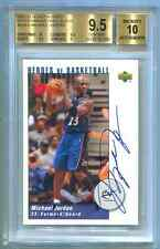 2002-03 UD AUTHENTICS HEROES AUTOGRAPH AUTO MICHAEL JORDAN #1/1 BGS 9.5 1 OF 1