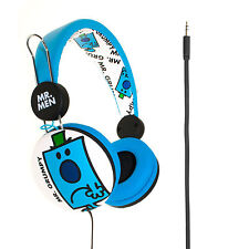 Mr Men Grumpy Kids Children Stereo Adjustable Headphones Mr Grumpy