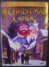 A Christmas CAROL DVD Animated HOLIDAY Movie Cartoon Collectible Classics