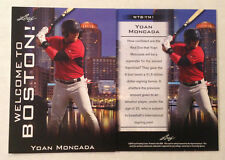 2015 Leaf In The Game National Convention VIP Promo YOAN MONCADA Red Sox RC #YM1