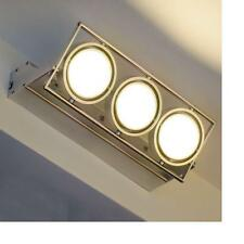 Lampada led applique  parete 15x1w luce calda 3000K faretto spot 230V proiettore