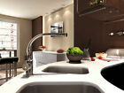 polished chrome faucet kitchen basin sink mixer tap precisoussingle handle 8453