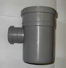 "Soil Pipe 110 mm - Branch With 90 degree 50 mm Inlet - Push-Fit Grey 4"" Sewerage"