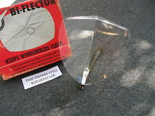 NEW SINGLE VINTAGE STYLE CLEAR WINDSHIELD BUG DEFLECTOR # 126