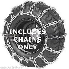 23X1050X12 Tractor Tire Chains, 2 Link Spacing
