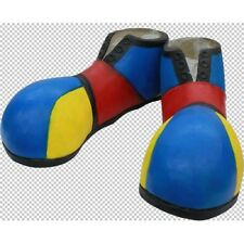 Shoes Clown Latex Fancy Dress  Footwear Shoecover  Adult