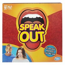 NEW Speak Out--Board Game--Hasbro--In Hand Ships Today!!