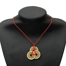 2 SET Charms Tied Chinese Oriental Feng Shui Wealth Lucky