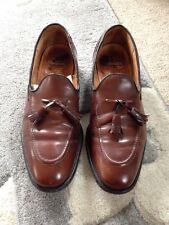 CHURCH  VINTAGE TASSEL LOAFERS BROWN   – UK 10E EXCELLENT CONDITION
