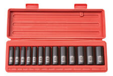 "Tekton 13Pc. 3/8"" Drive 6-Point Deep Impact Socket Set METRIC-WARRANTY"