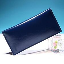 Women Leather Card Receipt Holder Organizer Long Folding Wallet Purse Handbags