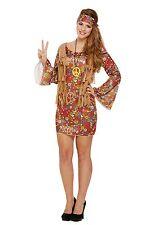 Femmes Hippie Groovy Déguisement Costume Hippie femmes 1970s 1960s (U37 900)