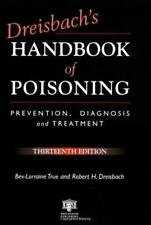 Dreisbach's Handbook of Poisoning: Prevention, Diagnosis and Treatment-ExLibrary