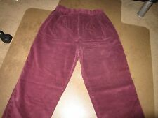 WOMENS EDDIE BAUER SIZE 12 PANTS.FRONT PLEATED CORDUROY