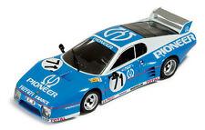 Ferrari BB512 Blue Pioneer Race Car #71 1/43 scale collectible diecast IXO NIB