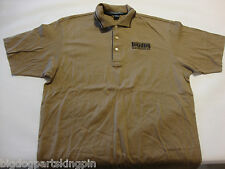 BIG DOG MOTORCYCLE 2XL ULTIMATE POLO SHIRT EMBROIDERED LOGO GOLF OFFICE