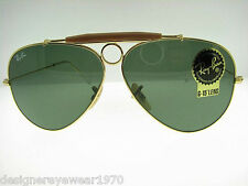 New Authentic Ray Ban Icons Sunglasses RB 3138 001 RB3138 Made In Italy
