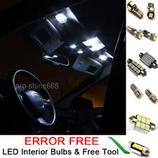 Interior Car LED Bulb Light KIT Package Xenon White 6000K For 05-11 VW PASSAT B6