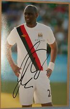 Patrick Viera signed photo (Man City, Inter Milan, Arsenal, France)