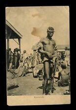 East Africa Kenya British East Africa KAVIRONDO Native Man ethnic PPC used 1909