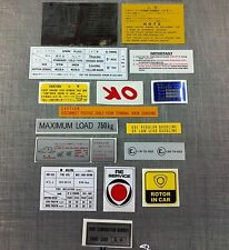 Mazda Rotary Sticker Kits suit R100 RX2 RX3 10A 12A 13B (RX-3 Decal Kit)