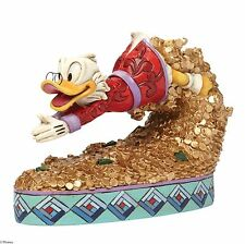 Disney Traditions Scrooge McDuck Figurine by Jim Shore  NEW in Gift box - 25382