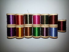 13 spools wrapping thread twist rod building winding A nice! 200 YARDS (BONUS)