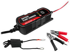 Battery Charger Maintainer 6V 12V 3Amp Trickle RV Car Truck Motorcycle Mower