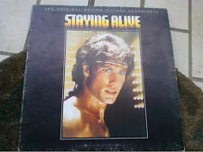 LP STAYING ALIVE OST BEE GEES STALLONE GATEFOLD COVER EX VINILE EX/EX+