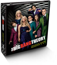 Big Bang Theory Seasons 6 & 7 Trading Card Binder Album with M37 Costume Card