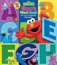 Lift-The-Flap: Sesame Street: Elmo's Word Book : An English/Spanish Flap Book...