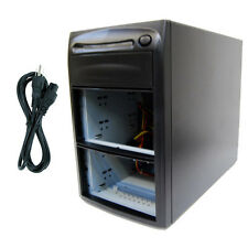 3 Burner (5 Bay) SATA CD DVD Duplicator Copier Enclosure Case Tower Replicator