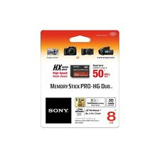 Genuine Sony 8gb Memory Stick Pro-HG Duo, Retail Pack