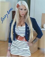 Lolly Ink Adult Film Star Signed 8x10 Photo #99 Desire Films Sticky Evil Angel