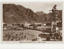 Round The Crescent No.1 Aden Vintage RP Postcard 477a