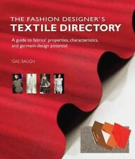 THE FASHION DESIGNER'S TEXTILE DIRECTORY - GAIL BAUGH (PAPERBACK) NEW