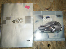 2002 FORD FOCUS FACTORY OWNERS MANUAL OPERATORS BOOK WITH CD ROM