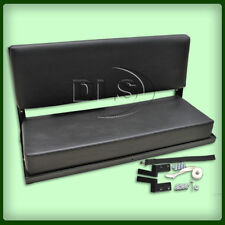 LAND ROVER DEFENDER 90 - Black Vinyl Rear Bench Seat with fittings (320737)