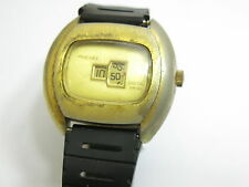 VINTAGE PROCIDEX DIGITAL JUMP MYSTERY STYLE MENS WINDUP WATCH WITH BAND
